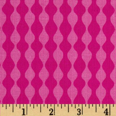 Mosaica Wavy Stripes Pink