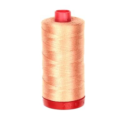 Aurifil 12wt Embellishment and Sashiko Dreams Thread Peach