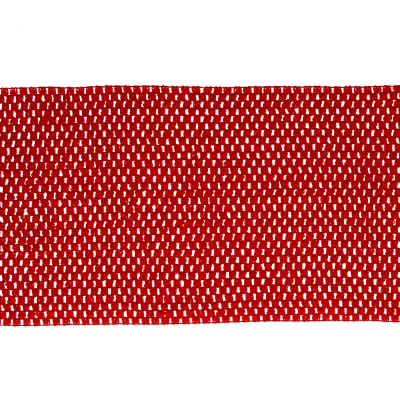"9"" Crochet Headband Trim Red"