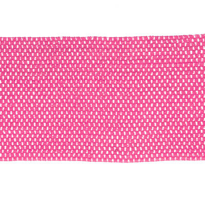 "9"" Crochet Headband Trim Fuchsia"