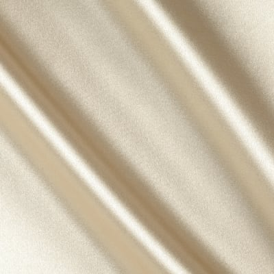 Stretch Charmeuse Satin Champagne