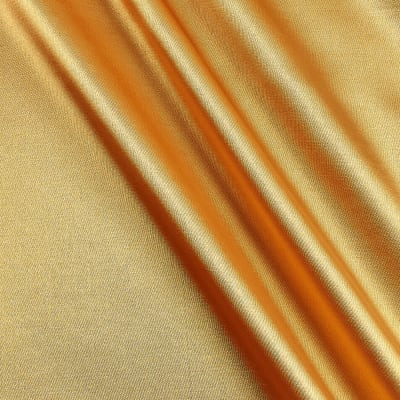 Stretch Charmeuse Satin Sungold