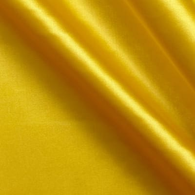 Stretch Charmeuse Satin Yellow
