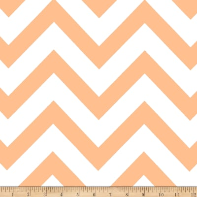 Mi Amor Duchess Satin Chevron Blush Tan/White