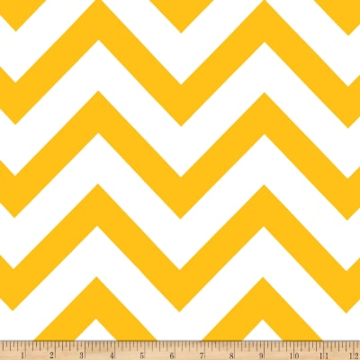 Mi Amor Duchess Satin Chevron Yellow/White