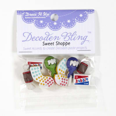 Dress It Up Embellishment Buttons Sweet Shoppe