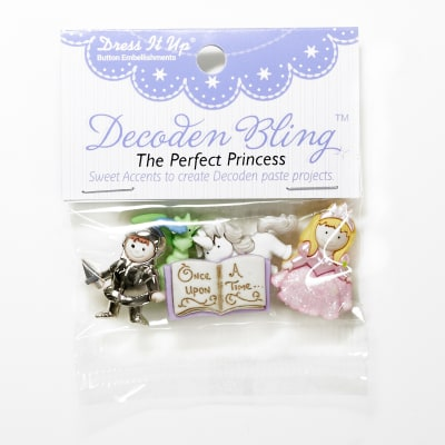 Dress It Up Embellishment Buttons The Perfect Princess