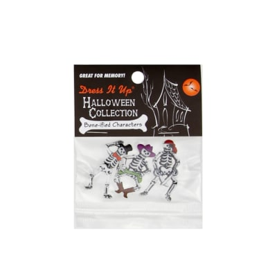 Dress It Up Embellishment Buttons Bone-Ified Characters