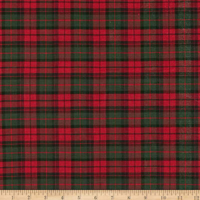 Holiday Blitz Small Plaid Red/Green