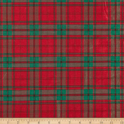 Holiday Blitz Medium Plaid Red/Green
