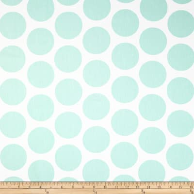 Premier Prints Fancy Dot Twill Mint