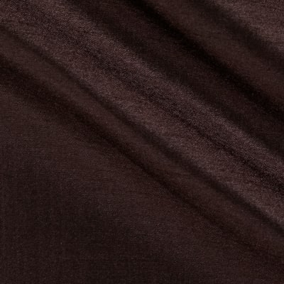 "120"" Faux Dupioni Chocolate"