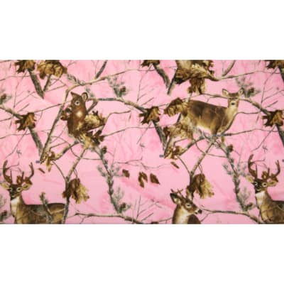 Realtree Pink Deer Allover Print