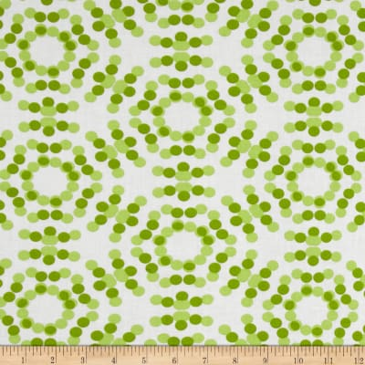 "108"" Spot On Quilt Backs Circle Dots Green"