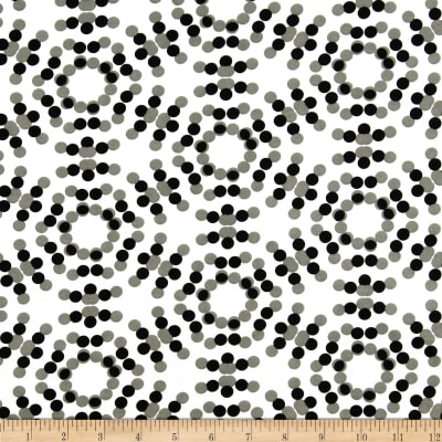 "108"" Spot On Quilt Backs Circle Dots Grey"