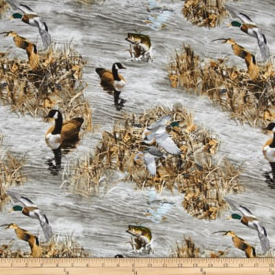 Realtree Flannel Ducks and Fish Multi
