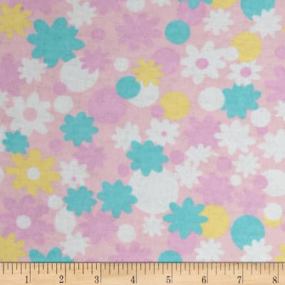 Newcastle Flannel Minnie Floral Pink