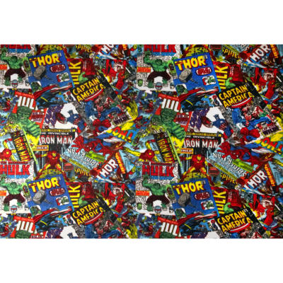 Marvel Comics Fleece Comic Fury Cover Art Red
