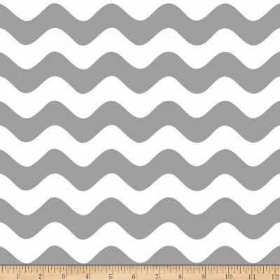 Riley Blake Wave Gray