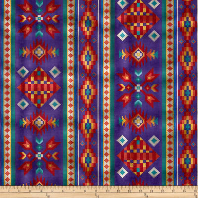 Tucson Beaded Stripe Purple