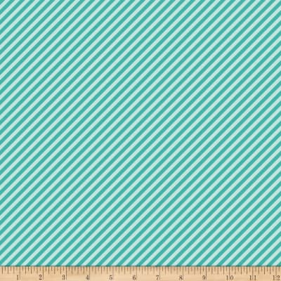 Riley Blake Fancy Free Fancy Stripe Teal