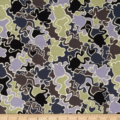 Kanvas Camo Mix Camo Frogs Gray