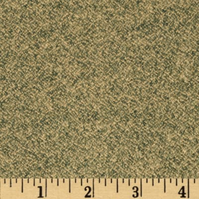 Kaufman Shetland Flannel Textured Solid Olive