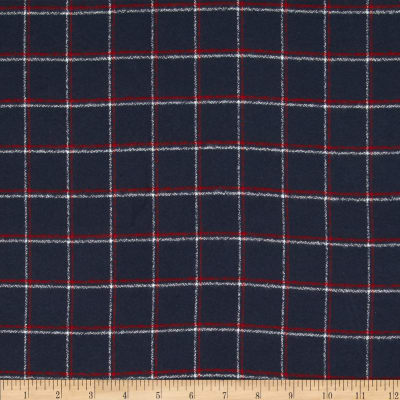 Kaufman Mammoth Flannel Plaid Steel