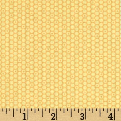 Timeless Treasures Soleil Geo Dot Yellow