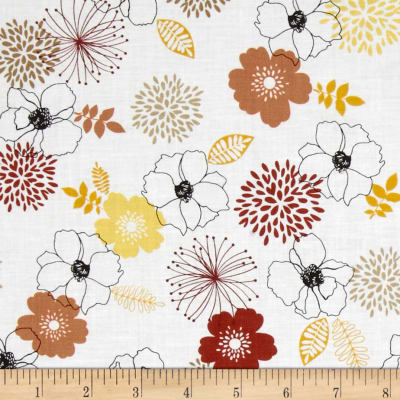 Birds and Blooms Full Bloom Yellow/Multi