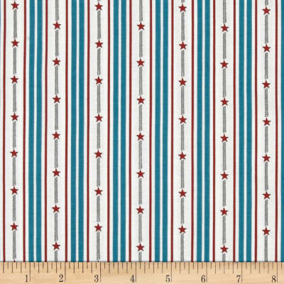 By the Sea Bay Star Stripe Blue/Multi