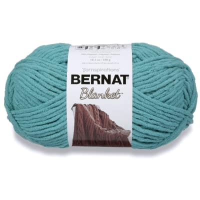 Bernat Blanket Big Ball Yarn (10734) Light Teal