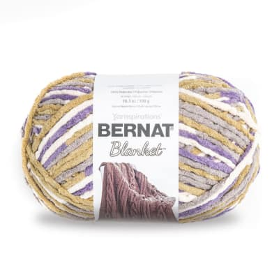 Bernat Blanket Big Ball Yarn (10185) Lilac Blue