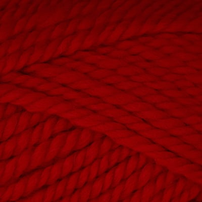 Patons Classic Wool Bulky Yarn (89707) Bright Red