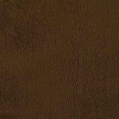 Shannon Minky Solid Cuddle 3 Extra Wide Brown