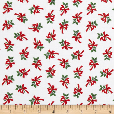 Where's Rudolph? Mistletoe White