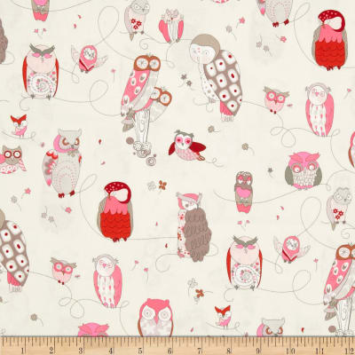 Rita Flora Spotted Owl Oyster/Pink