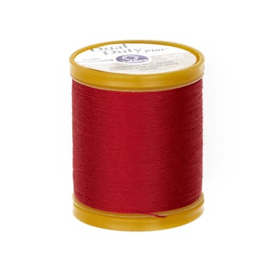 Dual Duty Plus Jeans & Topstitching Thread 60 YD Red
