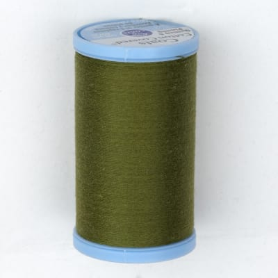 Coats & Clark Cotton Covered Quilting & Piecing Thread 500 Yds. Olive