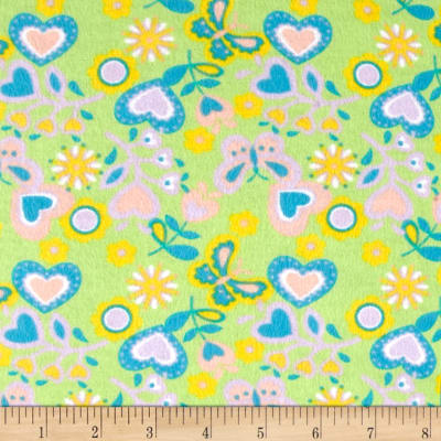 Flannel Prints Shelby Lime