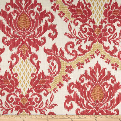 Waverly Bedazzle Ikat Blend Clementine