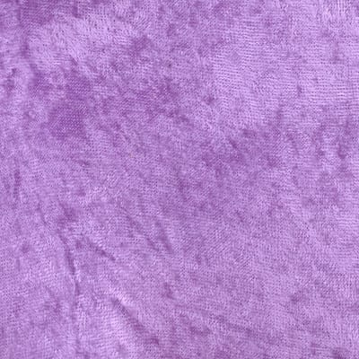Crushed Panne Velour Lilac