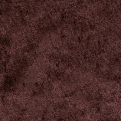 Crushed Panne Velour Brown