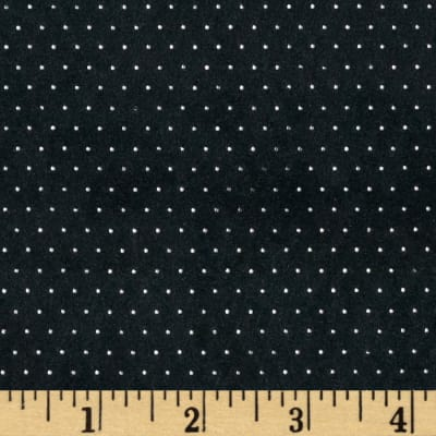 Telio Sutton Suede Knit Pin Dot Black