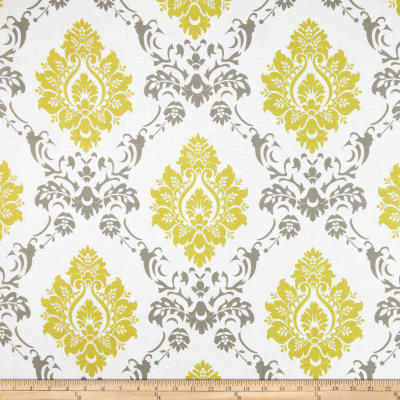 RCA Sheers Damask Citrine/Grey