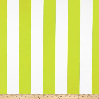 RCA Sheers Uno Vertical Stripe Chartreuse