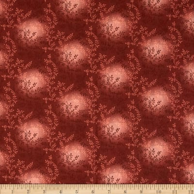 "108"" Wide Quilt Back Tonal Vineyard Burgundy"
