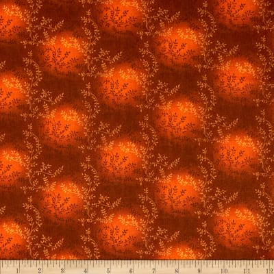 "108"" Wide Quilt Back Tonal Vineyard Rust"