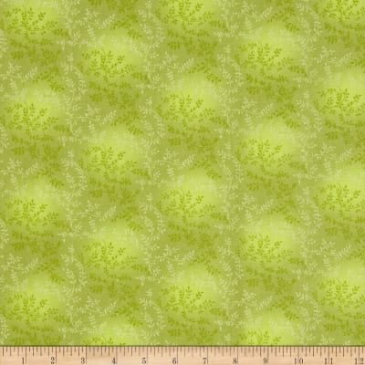 "108"" Wide Quilt Back Tonal Vineyard Light Olive"