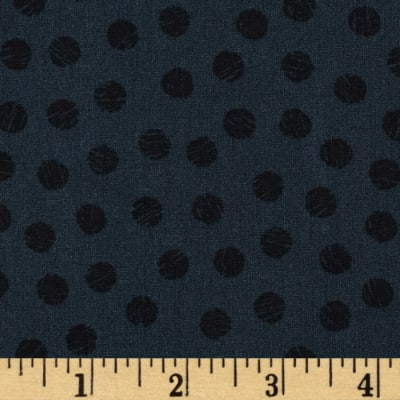 Sketch Dots Navy